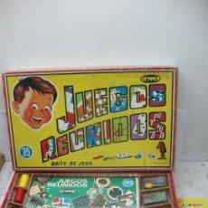 Juegos de mesa: GEYPER REF: 35 - JUEGOS REUNIDOS FABRICADO EN ESPAÑA. Lote 52500087