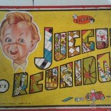 Juegos de mesa: MUY ANTIGUO JUEGOS REUNIDOS GEYPER Nº 0. INCOMPLETO. Lote 52557604