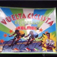 Juegos de mesa: ANTIGUO JUEGO DE MESA, VUELTA CICLISTA, CON KELME. MUY BUEN ESTADO. Lote 52609734