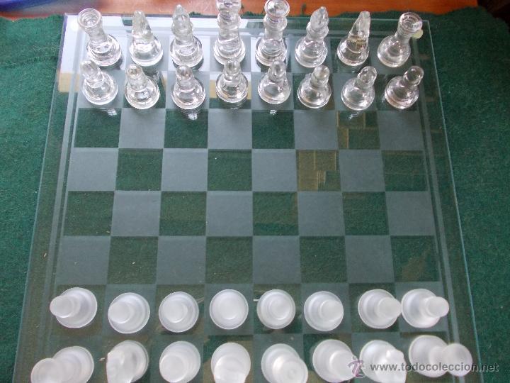 AJEDREZ DE CRISTAL (Juguetes - Juegos - Juegos de Mesa)