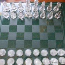 Juegos de mesa: AJEDREZ DE CRISTAL. Lote 52645876