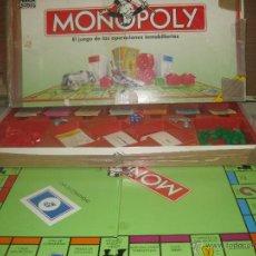 Juegos de mesa: ORIGINAL MONOPOLY PARKER 1992.. Lote 52647097