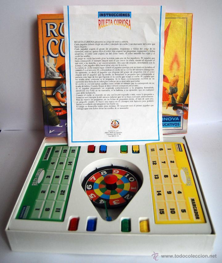 Ruleta Curiosa De Dinova Educativos El Juego Es Comprar Juegos De