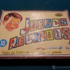 Juegos de mesa: JUEGOS REUNIDOS GEYPER Nº 10 - NO ESTA COMPLETO, VER FOTOS Y DETALLES. Lote 52704545