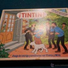 Juegos de mesa: TINTÍN - JUEGO DE INTRIGA Y AVENTURAS CON TINTÍN Y MILÚ - INCOMPLETO - EDUCA REF. 3512. Lote 52705342