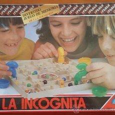 Juegos de mesa: LA INCOGNITA. JUEGO DE MESA DE RATITOS FEBER DE LOS AÑOS 80. FILM CERRADO. Lote 52708471