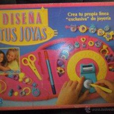Juegos de mesa: DISEÑA TUS JOYAS DE MB -- . Lote 52714241