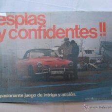 Juegos de mesa: JUEGO DE MESA ESPIAS Y CONFIDENTES BORRAS EDICION LUJO INCOMPLETO SE VENDEN PIEZAS SUELTAS. Lote 52719217