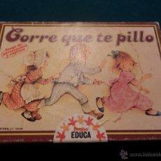 Juegos de mesa: CORRE QUE TE PILLO - JUEGO DE PERSECUCIÓN Y CAPTURA - JUEGOS EDUCA - BY SALLENT HNOS. - INCOMPLETO. Lote 52723736