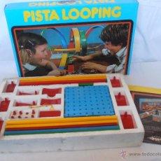 Juegos de mesa: JUEGO PISTA LOOPING PILEN CAJA ORIGINAL BUEN ESTADO FALTA COCHE. Lote 52728594