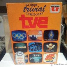Juegos de mesa: ANTIGUO TRIVIAL CORONADO TVE AÑO 1986 VER DESCRIPCCION Y FOTOS. Lote 52729114
