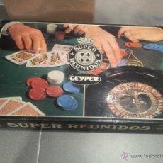 Juegos de mesa: ANTIGUO JUEGO SUPER REUNIDOS GEYPER AÑOS 60/70 VER FOTOS Y DESCRIPCCION. Lote 52751950