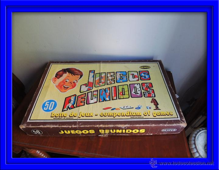 Juegos Reunidos Geyper De 50 Caja Completa Comprar Juegos De Mesa