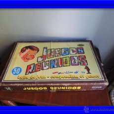 Juegos de mesa: JUEGOS REUNIDOS GEYPER DE 50 CAJA COMPLETA. Lote 233079460