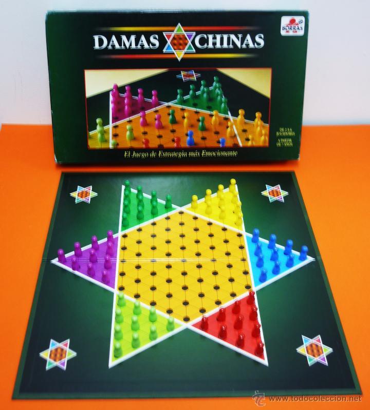 Damas Chinas Borras Juego De Mesa Comprar Juegos De Mesa