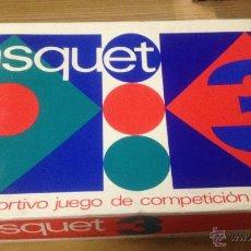Jeux de table: ANTIGUO JUEGO DE MESA BASQUET 3 DE PERMA. NUEVO EN CAJA ORIGINAL.. Lote 52800567