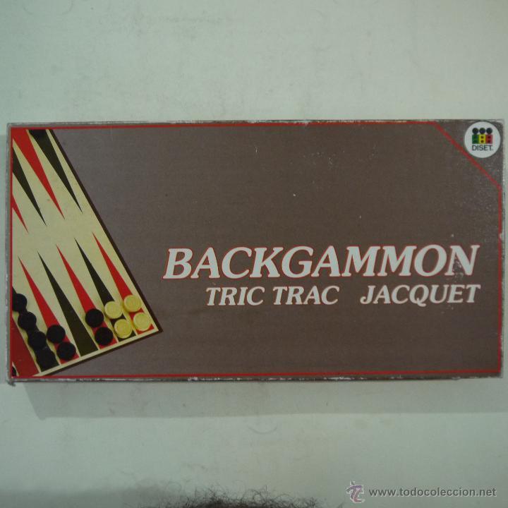 BACKGAMMON - DISET (Juguetes - Juegos - Juegos de Mesa)