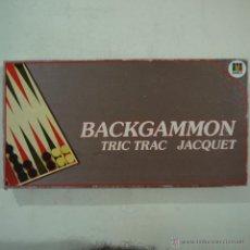 Juegos de mesa: BACKGAMMON - DISET. Lote 52906921