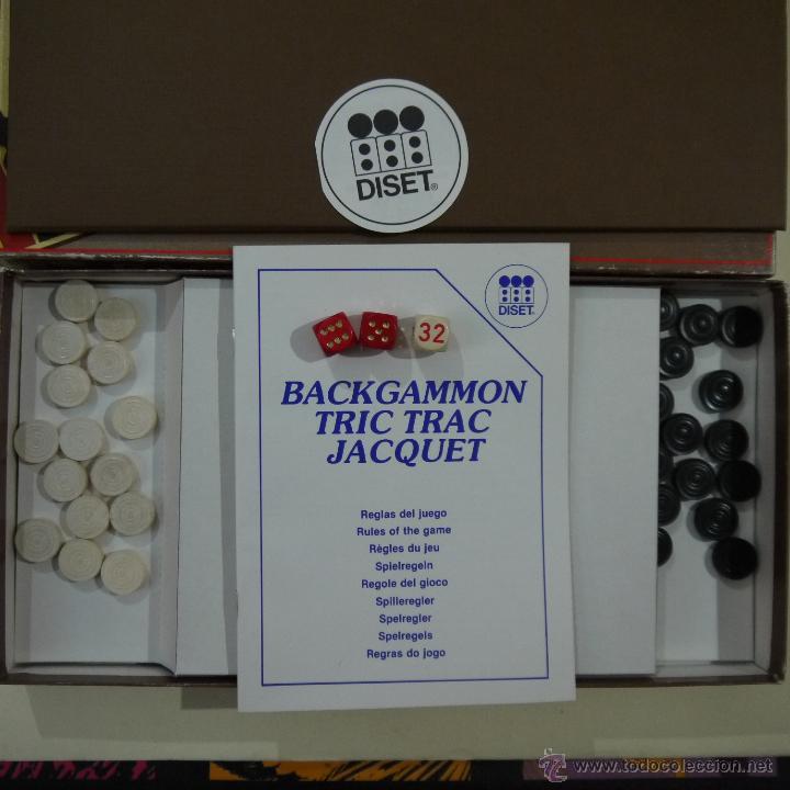 Juegos de mesa: BACKGAMMON - DISET - Foto 3 - 52906921