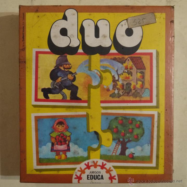 DUO - EDUCA - 1978 - JUEGO NUEVO Y PRECINTADO (Juguetes - Juegos - Juegos de Mesa)