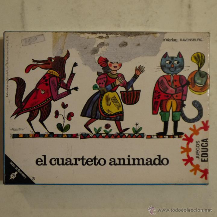 El Cuarteto Animado Educa Ravensburg Anos 7 Comprar Juegos De