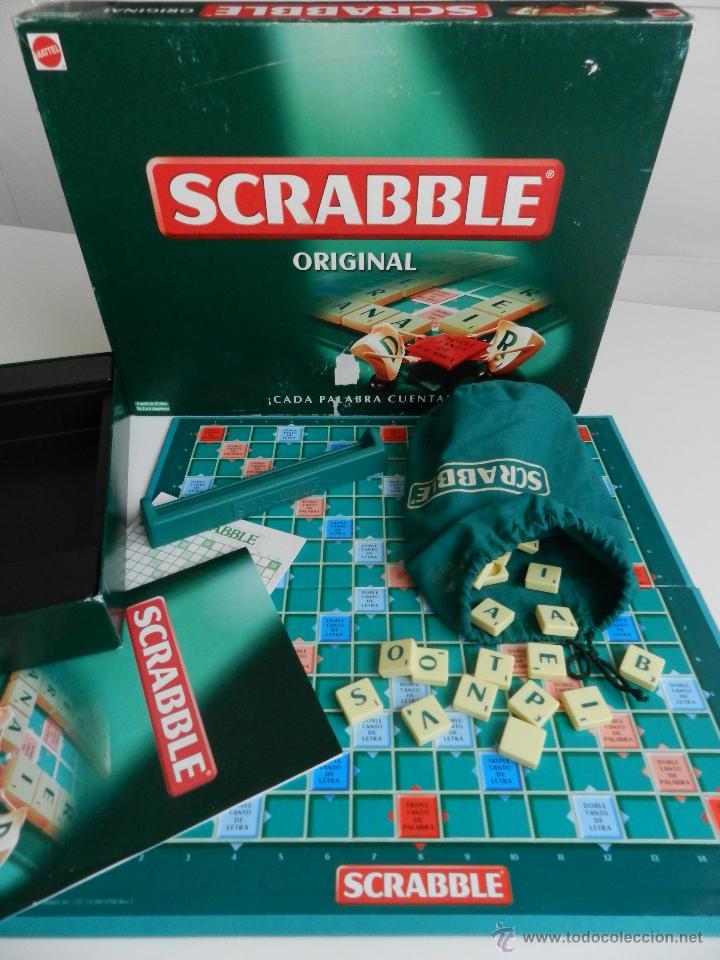 Scrabble Original Mattel Comprar Juegos De Mesa Antiguos En
