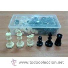 Juegos de mesa: PIEZAS DE AJEDREZ DE PLÁSTICO. STAUNTON 5-6. 600 GRAMOS. Lote 70579761