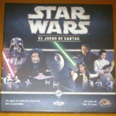 Juegos de mesa: STAR WARS EL JUEGO DE CARTAS. EDGE ENTERTAINMENTS. Lote 52983505