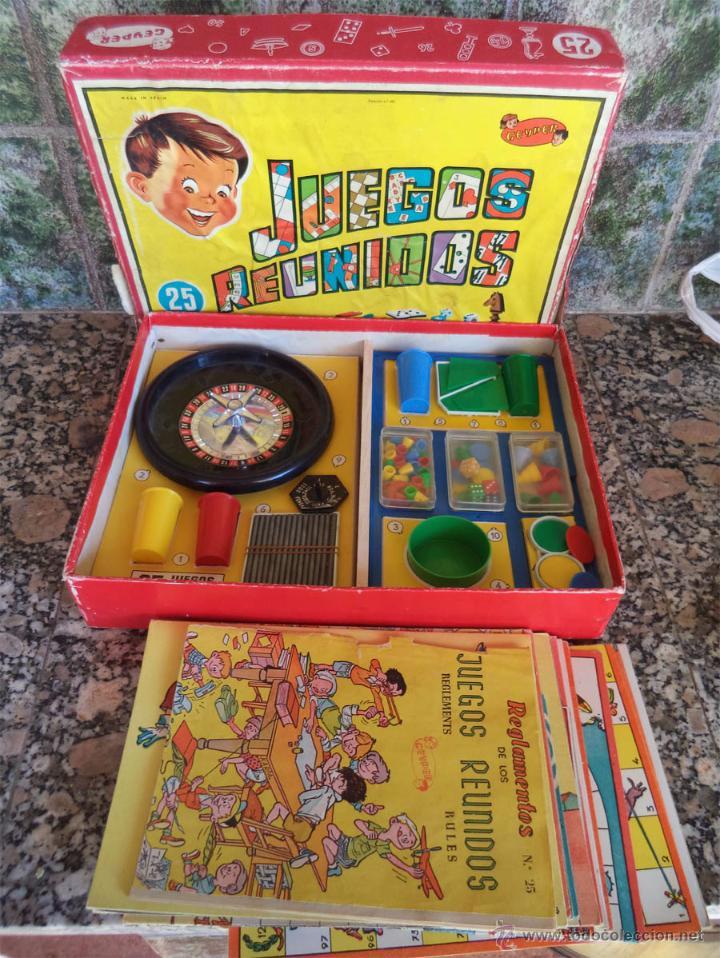 25 Juegos Reunidos Geyper Antiguos Instruccione Comprar Juegos De