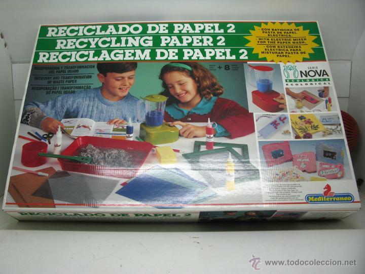 Reciclado De Papel 2 Mediterraneo De Jugueter Comprar Juegos De