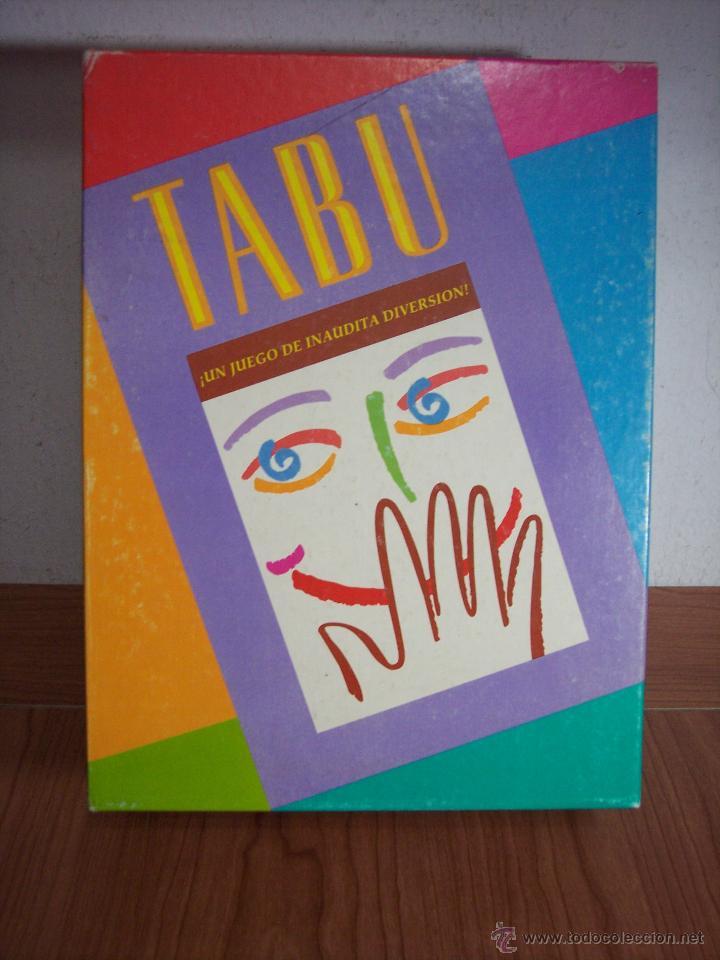 Divertido juego de mesa tabu mb juegos 1996 comprar for Juego de mesa tabu precio