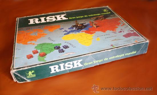 Juego De Mesa Vintage Anos 70 Risk De Borras Comprar Juegos De