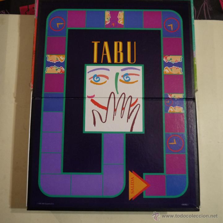 Tabu Mb Juegos 1990 Comprar Juegos De Mesa Antiguos En