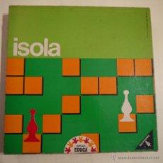 Juegos de mesa: ISOLA - EDUCA-RAVENSBURGER - 1972 - COMPLETO. Lote 53159983