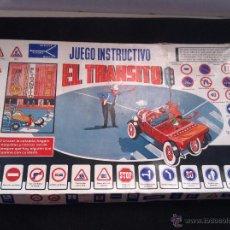 Juegos de mesa: ANTIGUO JUEGO INSTRUCTIVO EL TRANSITO, DE JUGUETES OCAÑA. MUY RARO. POCO VISTO. CON INSTRUCCIONES. Lote 53164257