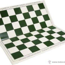Juegos de mesa: CHESS. TABLERO DE AJEDREZ RÍGIDO PLEGABLE DE PLÁSTICO 50X50MM. Lote 269123768
