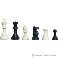 Juegos de mesa: CHESS. PIEZAS DE AJEDREZ DE PLÁSTICO MUY RESISTENTES Y PESADAS GAMBIT. Lote 149258341