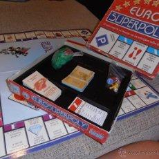 Juegos de mesa: JUEGO EUROSUPERPOLI -------- (REF-CAYAALBONELUJU). Lote 53276252