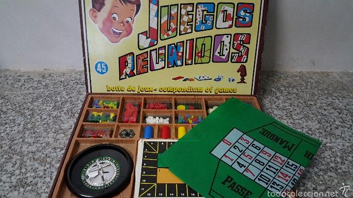 Juegos Reunidos Geyper Caja De 45 Juegos Comp Comprar Juegos De