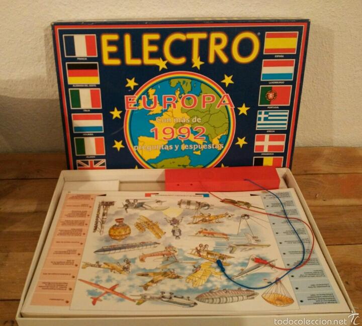 Antiguo Juego De Mesa Electro Europa 1992 Comprar Juegos De Mesa