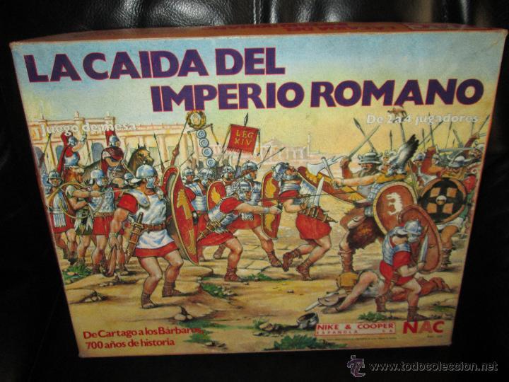 Juego De Mesa La Caida Del Imperio Romano Nac Comprar Juegos De