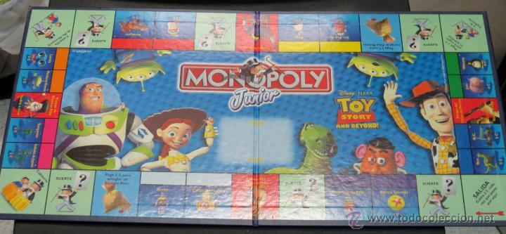 Juego Monopoly Junior Toy Story And Beyond Comprar Juegos De Mesa