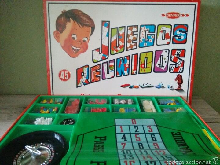 Juegos Reunidos Anos 80 Impecable Comprar Juegos De Mesa