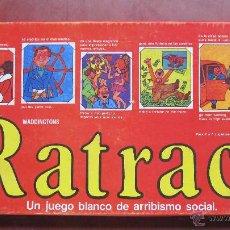 Juegos de mesa: RATRACE. UN JUEGO BLANCO DE ARRIBISMO SOCIAL. PRODUCIDO POR TYR. SIN USO.. Lote 53349013