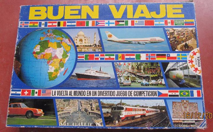 Buen Viaje Juegos Educa La Vuelta Al Mundo En Comprar Juegos De