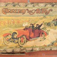Juegos de mesa: PUBLICIDAD JUEGO MESA JUGUETE CARRERAS DE AUTOS AÑOS 20 BARCELONA COCHES CATALUNYA DADOS FICHAS (6. Lote 53349513