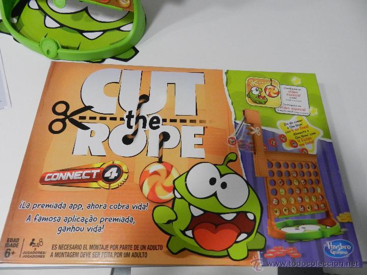 Conecta 4 De Hasbro Cut The Rope Comprar Juegos De Mesa Antiguos