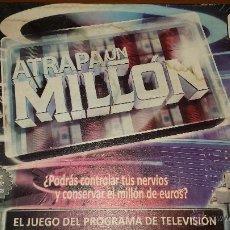 Juegos de mesa: ATRAPA UN MILLON EL JUEGO DE LA TELE. Lote 53488752