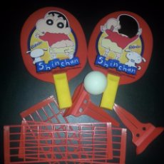 Juegos de mesa: JUEGO DE PING PONG COLA CAO SHIN CHAN 2004. Lote 53495714