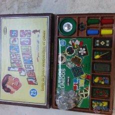 Juegos de mesa: CAJA DE JUEGOS REUNIDOS GEYPER. Lote 53497060